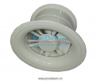 Variable Swirl Air Diffuser